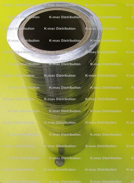 1100-O Aluminum Foil.003 Thickness x 48 Width x 600 Length 1 Roll