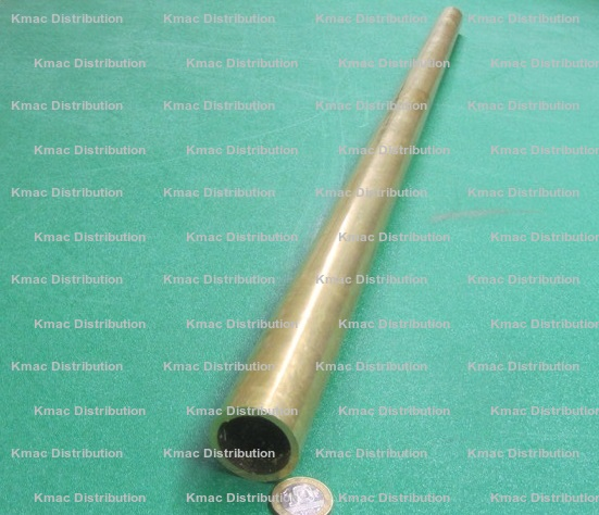 1 Pc. Length 330 Brass Round Tube.625 OD x .375 ID x .125 Wall x 1 Ft