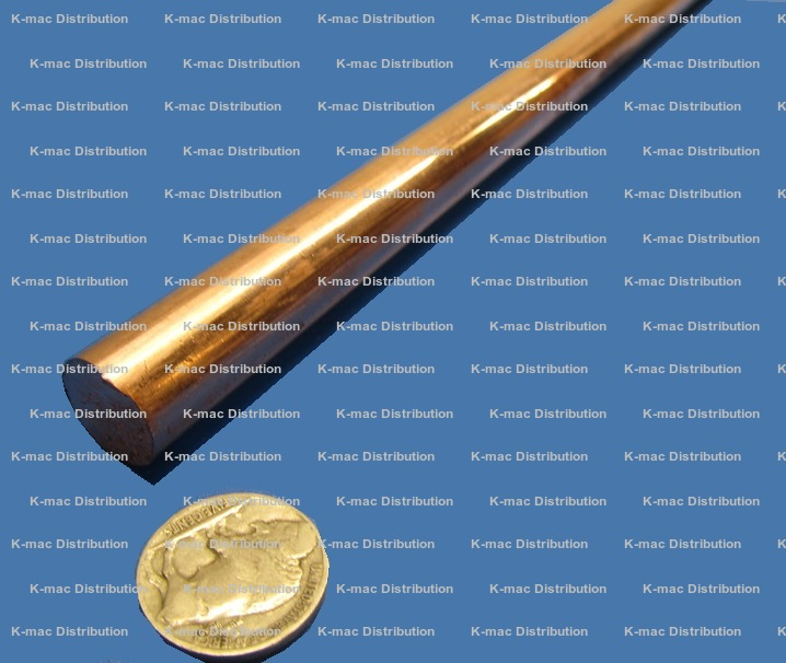 101 Alloy Copper Round Rods, ASTM B187, Electrical Grade