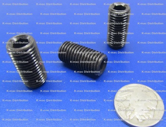 M12 Metric Socket Set Screws, 12MM to 60MM Lengths