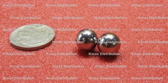 "623  11//32/""   Chrome steel bearing balls precision grade 25 3-3//4 lbs"