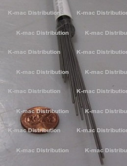 3,05 feet // 1 meter Stainless steel hard rods Hard Rods 302-0.047 inch // 1.2 mm