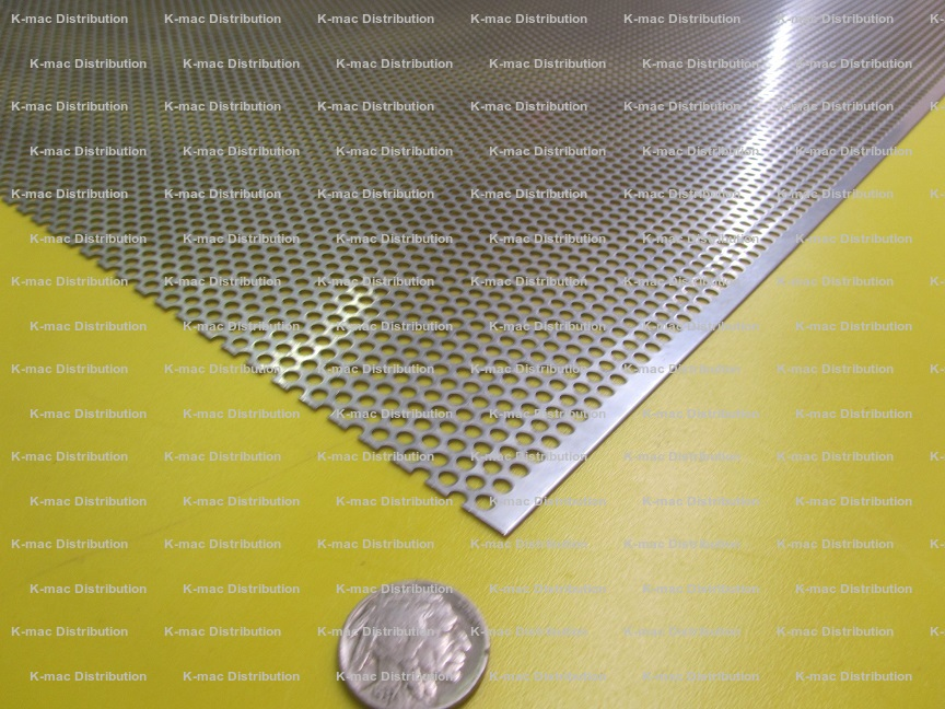 Stainless Steel Perfoated Sheets with Holes